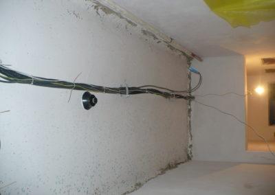 instalace pod sádrovým stropem 1