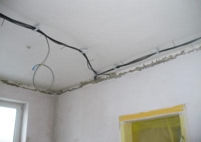 instalace pod sádrovým stropem 3